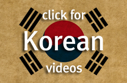 Sidebar Korean videos button