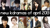 Top 6 New 2013 Korean Dramas of April thumbnail