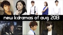 Top 5 New 2013 Korean Dramas of August thumbnail