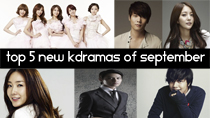 Top 5 New 2013 Korean Dramas of September thumbnail