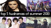 Top 5 New 2013 Taiwanese Dramas of Summer thumbnail