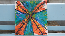 """Under the Eiffel"" – Abstract Acrylic thumbnail"