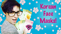 All Natural Korean Beauty Face Masks! thumbnail