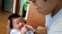 Meeting Baby Joon at Hyunwoo's House in Seoul thumbnail