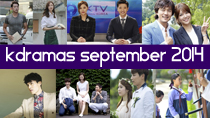 Top 5 New Korean Dramas Sept. 2014 GIVEAWAY! thumbnail
