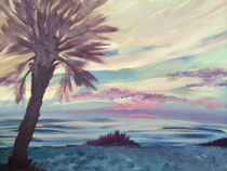 """Palm Sunday"" – Acrylic on Canvas (SOLD) thumbnail"