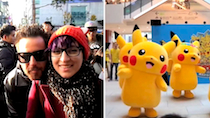 Catching Pikachu in Seoul thumbnail