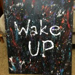 """Wake Up"" – Acrylic on Canvas (SOLD) thumbnail"