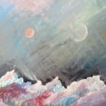 """Fly Me to the Moon"" – Acrylic on Canvas (SOLD) thumbnail"