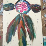 """Dreamcatcher"" – Acrylic on Canvas thumbnail"