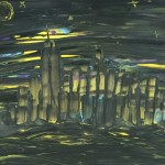 """Midnight City"" – Acrylic on Canvas (SOLD) thumbnail"
