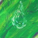 """One Drop"" – Acrylic on Canvas thumbnail"
