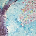 """Sakura"" – Acrylic on Canvas (SOLD) thumbnail"