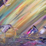 Shine or Go Crazy – Acrylic on Canvas (SOLD) thumbnail