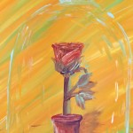 """Rose of Friendship"" – Acrylic on Canvas (SOLD) thumbnail"