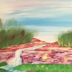 """Oasis"" – Acrylic on Canvas (SOLD) thumbnail"