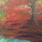 """Photosynthesis"" – Acrylic on Canvas (SOLD) thumbnail"