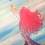 """The Mermaid"" – Acrylic on Canvas thumbnail"