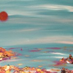 """Blood Moon"" – Acrylic on Canvas [SOLD] thumbnail"