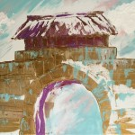 """The Gatehouse"" – Acrylic on Canvas (SOLD) thumbnail"