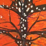 """Monarch"" – Acrylic on Canvas (SOLD) thumbnail"