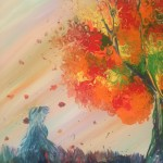 """Autumn Soul"" – Acrylic on Canvas thumbnail"