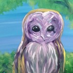 """YOLO – You Obviously Love Owls"" – Acrylic thumbnail"