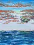 """Biplane in Orange Clouds"" thumbnail"
