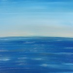 """Into the Blue"" – Acrylic on Canvas (SOLD) thumbnail"
