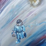 """Space Bento"" – Acrylic on Canvas [SOLD] thumbnail"