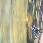 """The Waterbird"" – Acrylic on Canvas thumbnail"