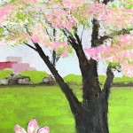 """A Piece of Spring"" – Acrylic on Canvas (SOLD) thumbnail"