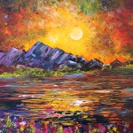 """An Evening in Color"" – Acrylic on Canvas thumbnail"