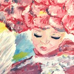 """The Lady Rose"" – Acrylic on Canvas (SOLD) thumbnail"