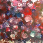 """Water Drops"" – Acrylic on Canvas [SOLD] thumbnail"