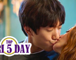 Top 5 Korean Drama Kiss Scenes 2016 thumbnail