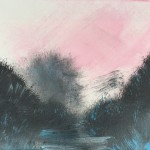"""Pink Skies"" – Acrylic on Canvas thumbnail"