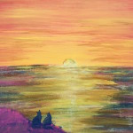 """Maki and Minho Sunset"" – Acrylic on Canvas thumbnail"