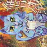 """Jazz Kitty"" – Acrylic on Canvas thumbnail"