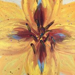 """Yellow Flower"" – Acrylic on Canvas [SOLD] thumbnail"