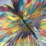 """Impavid (Butterfly)"" – Abstract Acrylic on Canvas thumbnail"