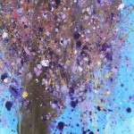 """Purple Tree"" – Abstract Acrylic on Canvas thumbnail"