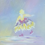 """Snow Angel"" – Acrylic on Canvas [SOLD] thumbnail"