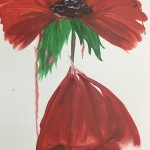 """Poppy"" – Acrylic on Canvas thumbnail"