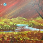 """Solstice on Mars"" – Acrylic on Canvas [SOLD] thumbnail"