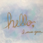 """Hello Heaven"" – Acrylic on Canvas [SOLD] thumbnail"