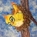 """Ganymede"" – Acrylic on Canvas thumbnail"