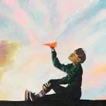 """""""Paper Planes (Spring Day)"""" – Acrylic on Canvas thumbnail"""