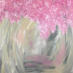 """""""Walking with you on a Crisp Spring Day"""" – Acrylic on Canvas thumbnail"""