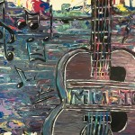 """Music"" – Acrylic on Canvas [SOLD] thumbnail"